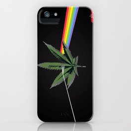 the dark side of 4/20 iPhone Case