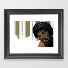 Vector Herbie Hancock Framed Art Print