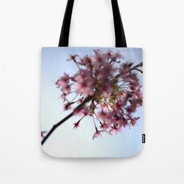 Pink Apple Blossom Tote Bag