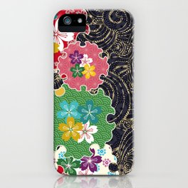 Beauty and gorgeousness like a traditional Japanese tattoo iPhone Case