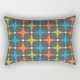 Mid Century Modern Star Pattern 935 Rectangular Pillow