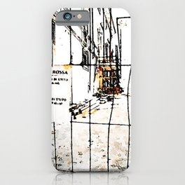 L'Aquila: historic center street earthquake iPhone Case