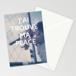 Paris (J'ai trouvé ma place) Stationery Cards