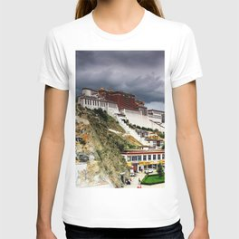 Gorgeous Antique Potala Palace Lhasa Tibet China Asia Ultra HD T-shirt