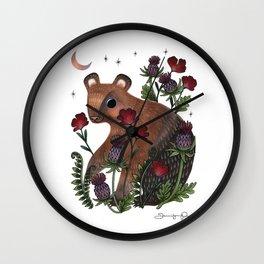 Baby Bear Wall Clock