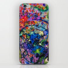 Youthful Discretions - Abstraction Improvisational Painting iPhone & iPod Skin