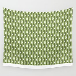 Green shell Wall Tapestry