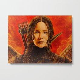 Katniss Everdeen Metal Print