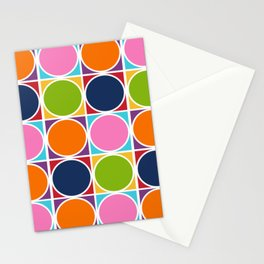 1960s geometric knitting patterns Stationery Cards