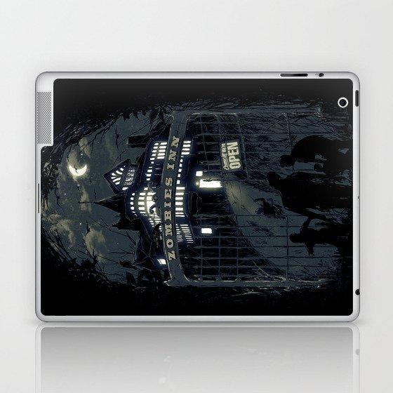 Zombies Inn Laptop & iPad Skin