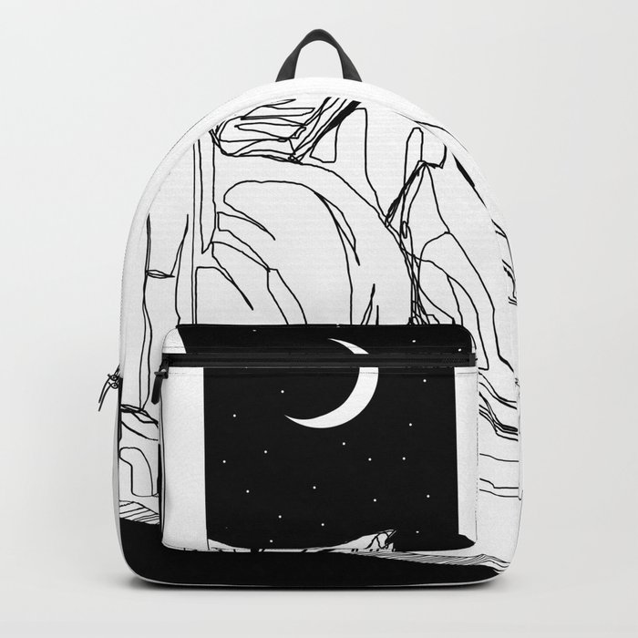 Something's on my mind Backpack