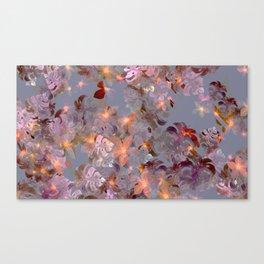 trellis trove rust Canvas Print
