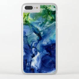 This Big Old World Clear iPhone Case
