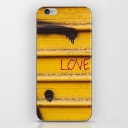 Love You, New York iPhone Skin