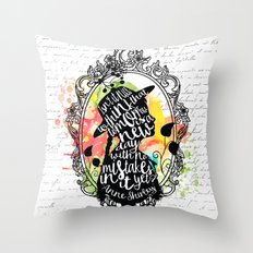 Anne Shirley - Tomorrow Throw Pillow