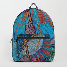 Minerva Goddess Of Wisdom Backpack