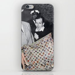 Government Cover Up - Vintage Collage iPhone Skin