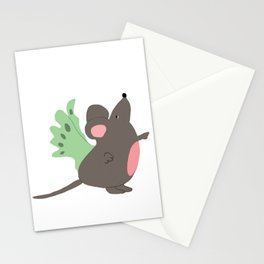 3 mouses Stationery Cards