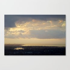Sunrise Over South Long Beach Canvas Print