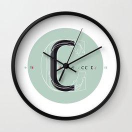C c Wall Clock