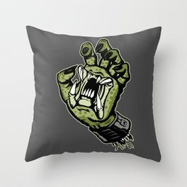 If it skates, we can kill it! Throw Pillow