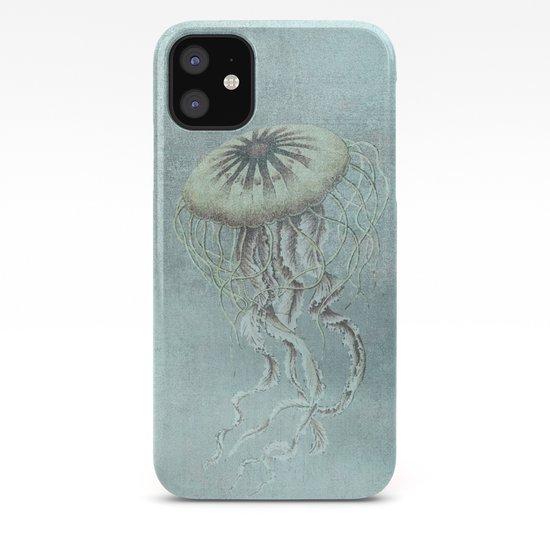 Jellyfish Underwater Aqua Turquoise Art by lebensart