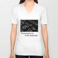 typewriter V-neck T-shirts featuring Typewriter by Frank Styburski
