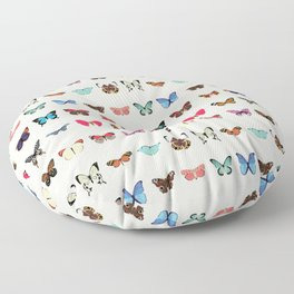 Butterflies Floor Pillow