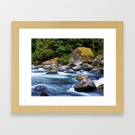 Earth & Water Framed Art Print