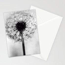 dandelion bw IV Stationery Cards