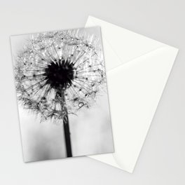 dandelion bw IV Stationery Cards