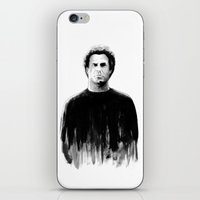 snl iPhone & iPod Skins featuring DARK COMEDIANS: Will Ferrell by Zombie Rust