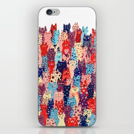 Cat Club iPhone Skin