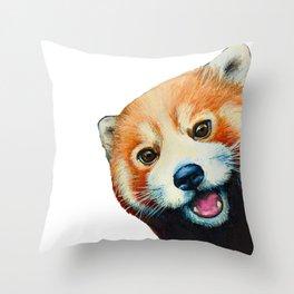 Panda Selfie Throw Pillow
