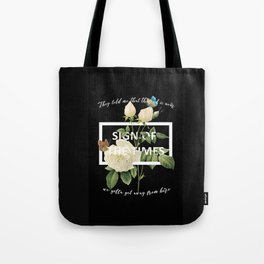 Harry Styles Sign Of The Times graphic design Tote Bag