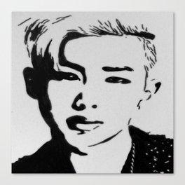Rap Monster- BTS Canvas Print