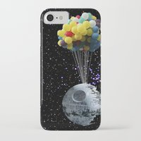 death star iPhone & iPod Cases featuring Death Star by J Styles Designs