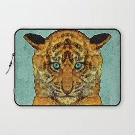 abstract tiger cub Laptop Sleeve