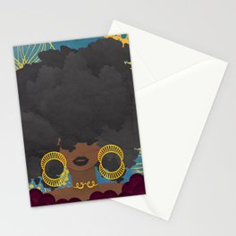 SHE KNOWS HER WORTH Stationery Cards