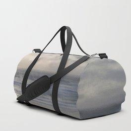 Silver Scene ~ Ocean Ripple Effect Duffle Bag