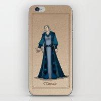 valar morghulis iPhone & iPod Skins featuring Manwe by wolfanita