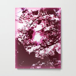 Under the Cherry Blossoms Metal Print