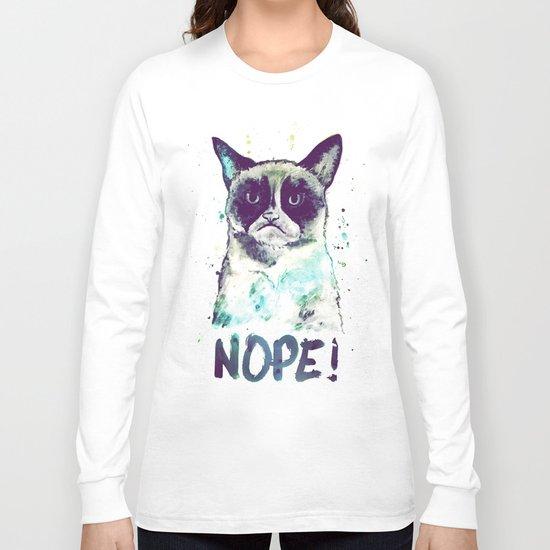 Grumpy Cat Long Sleeve T-shirt