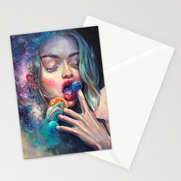 BLACK HOLE IN THE MILKY WAY Stationery Cards