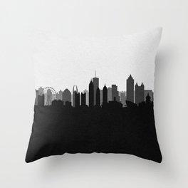 City Skylines: Atlanta (Alternative) Throw Pillow