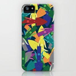 Tuukkaq in multicolor iPhone Case