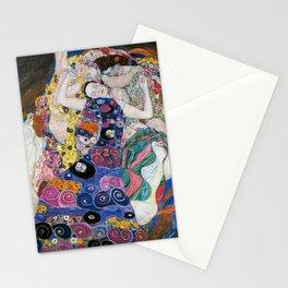 Gustav Klimt Die Jungfrauen The Maiden Stationery Cards