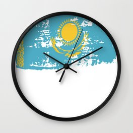 Kazakhstan Gift Only Sultan Russian Altai Country Wall Clock