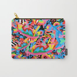 Colorful Sneaker Pattern Carry-All Pouch