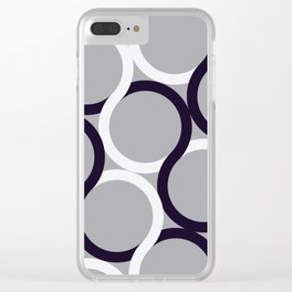 Linked Two Clear iPhone Case